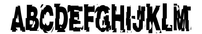 AfterShock Font UPPERCASE