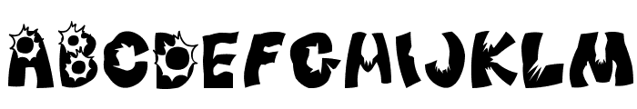 After_Attack Font UPPERCASE