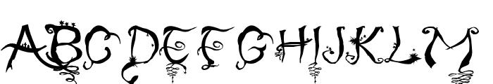 Afterlife Font UPPERCASE