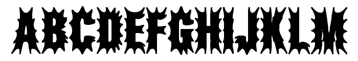 Aftermath BRK Font UPPERCASE
