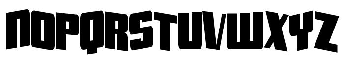 Aftershock Debris CondSolid Font UPPERCASE