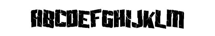 Aftershock Debris Condensed Font LOWERCASE