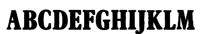 Afton James Font LOWERCASE
