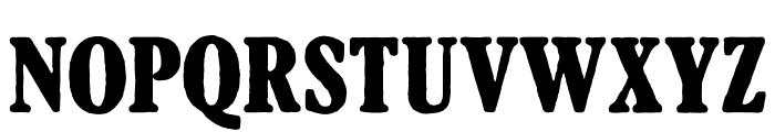 AftonJames Font UPPERCASE