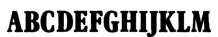AftonJames Font LOWERCASE