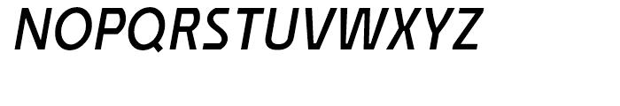 Affluent Semi Bold Italic Font UPPERCASE