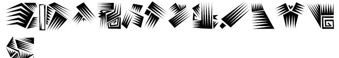 Afro Bats Regular Font LOWERCASE