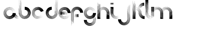 Afrobeat Normal Font LOWERCASE