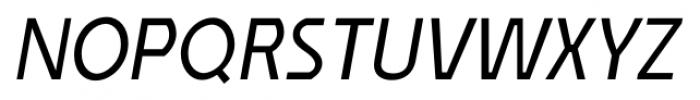 Affluent Italic Font UPPERCASE