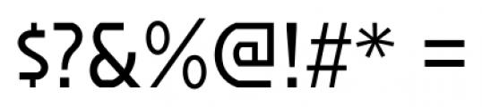 Affluent Regular Font OTHER CHARS