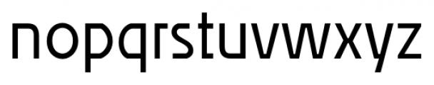 Affluent Regular Font LOWERCASE