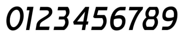 Affluent SemiBold Italic Font OTHER CHARS