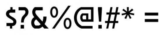 Affluent SemiBold Font OTHER CHARS