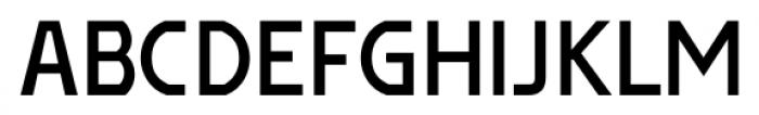 Affluent SemiBold Font UPPERCASE