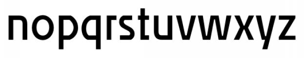 Affluent SemiBold Font LOWERCASE