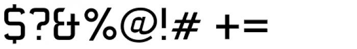 AF Carplates Medium Font OTHER CHARS