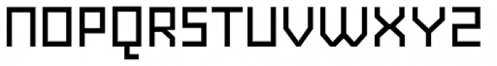 AF Generation A Medium Font UPPERCASE