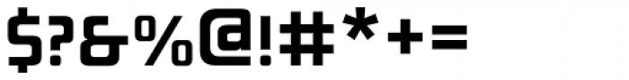 AF Generation AZ SemiBold Font OTHER CHARS
