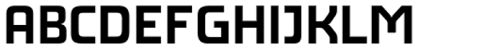 AF Generation AZ SemiBold Font UPPERCASE