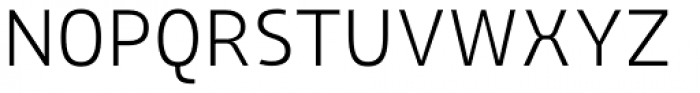 AF Generation Z SemiLight Font UPPERCASE