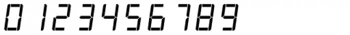 AF-LED7 Seg-1 Font OTHER CHARS