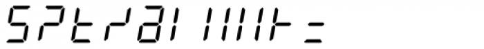 AF-LED7 Seg-2 Font OTHER CHARS