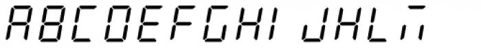 AF-LED7 Seg-2 Font UPPERCASE