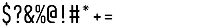 AF Module Pressure OT Mono Regular Font OTHER CHARS