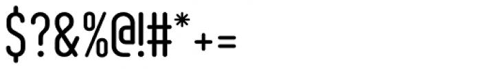 AF Module Text OT Regular Font OTHER CHARS