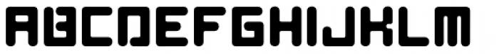 AF Nitro Riton Bold Font UPPERCASE