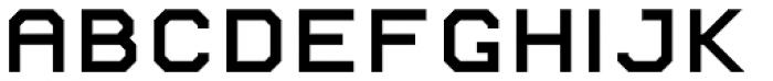 AF PAN Bold Font LOWERCASE