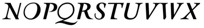 AF Retrospecta Bold Italic Font UPPERCASE