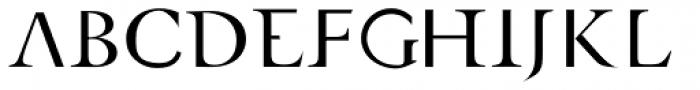 AF Retrospecta Roman Font UPPERCASE