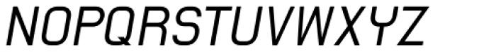 AF Spin Italic Font UPPERCASE
