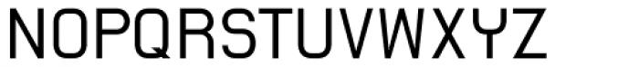 AF Spin Regular Font UPPERCASE