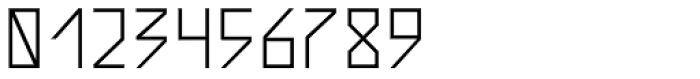 AF Zip Code 60 Bold Font OTHER CHARS