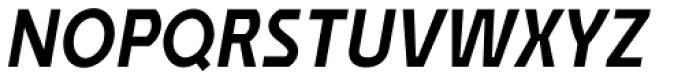 Affluent Bold Italic Font UPPERCASE