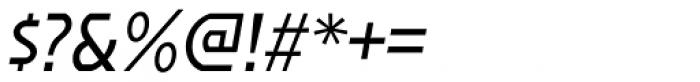 Affluent Italic Font OTHER CHARS