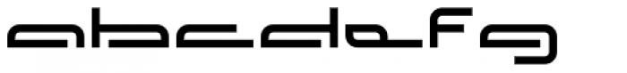 Affront Font LOWERCASE