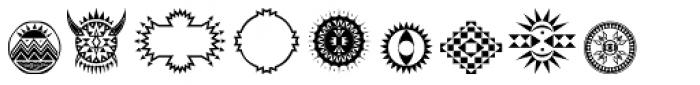 Afrodisiac Font OTHER CHARS
