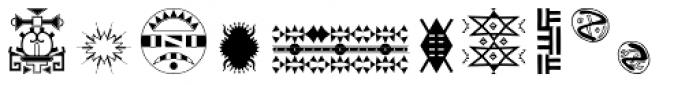 Afrodisiac Font LOWERCASE