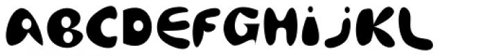 Afrodite EF Ready Font UPPERCASE