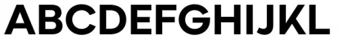 Aftika Bold Font UPPERCASE