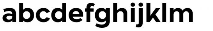 Aftika Bold Font LOWERCASE