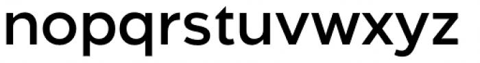Aftika Semi Bold Font LOWERCASE