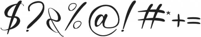 Agatha otf (400) Font OTHER CHARS