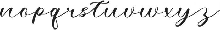 Agatha otf (400) Font LOWERCASE