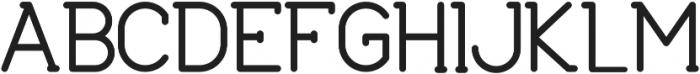 Agave-Bold Bold otf (700) Font UPPERCASE