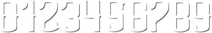 AgedWhiskey ShadowFX otf (400) Font OTHER CHARS