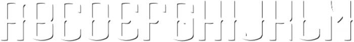 AgedWhiskey ShadowFX otf (400) Font LOWERCASE